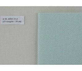 AIDA  14ct (35x42 cm) kolor: