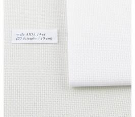 AIDA  14 ct (42 x 54 cm) kolor: 100 - biały