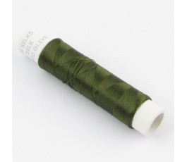 Floss silk, colour: mid olive
