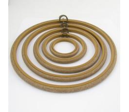 Wood tambour 15,5 cm