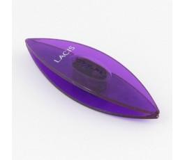 Czółenko Lacis 6,5 cm fioletowe