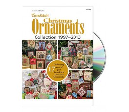 Just Cross Stitch Christmas Ornaments Collection 1997-2013 DVD