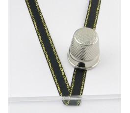 Satin ribbon decorated 6 mm/22 m col. 3141