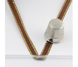 Satin ribbon decorated 6 mm/22 m col. 3134