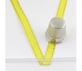 Satin ribbon decorated 6 mm/22 m col. 3011