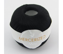 Marcerized Mini Crochet BLACK (May)