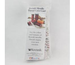 Karta kolorów nici Kreinik