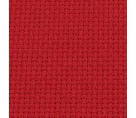 AIDA 14 ct (33 x 49 cm) kolor: czerwony (DMC)