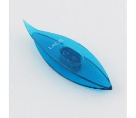 Czółenko Lacis 7,5 cm niebieskie