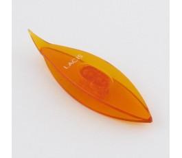 Czółenko Lacis 7,5 cm pomarańczowe
