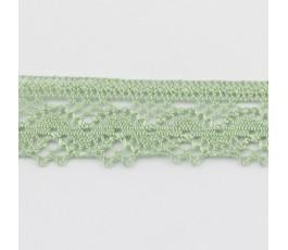 Koronka 2,5 cm, 6 - szarozielony (7246 Zweigart)
