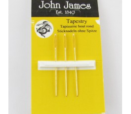 Gold plated tapestry needles no 22 (JG19822)