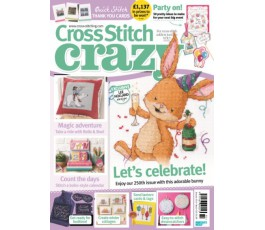 Cross Stitch Crazy 249 (DEC 2018)