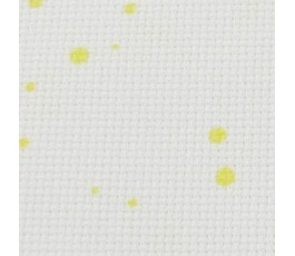 SPLASH AIDA 18 ct (35 x 42cm) colour: 1349 - white in yellow drops