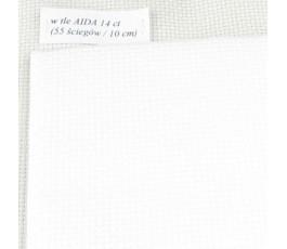 AIDA 11 ct (42 x 54 cm) kolor: 100 - biały
