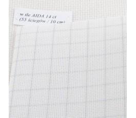 AIDA EASY COUNT 20 ct (35 x 42cm) kolor: 1219 - biały antyczny