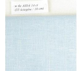 BELFAST 32 ct (50 x 70 cm) kolor: 562 - błękitny