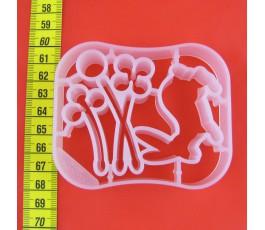Forma do filcowania Clover - Króliczek, koniczynka
