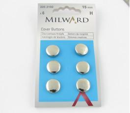 Buttons 15 mm, 6 szt.