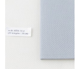 AIDA  14ct (35x42 cm) kolor: 713 - szary