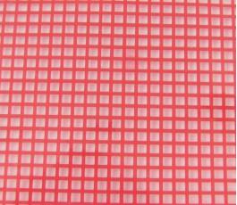 Plastic canvas 7 ct red 32...