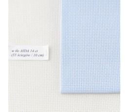 AIDA  14ct (35x42 cm) kolor: 5130 - jasnoniebieski