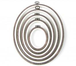 Flexi oval hoop 15,4 x 19...