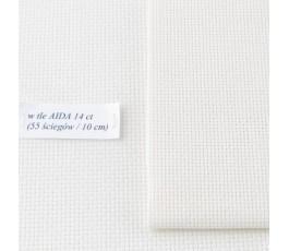 AIDA 16 ct ( 10x14 cm) kolor: 264 - ecru
