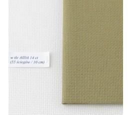 AIDA 16 ct ( 35x42 cm) kolor: 347 - khaki
