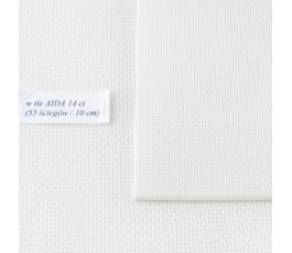 AIDA 18 ct ( 10x14 cm) kolor: 264 - ecru