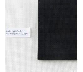 AIDA 16 ct ( 35x42 cm) kolor: 720 - czarny