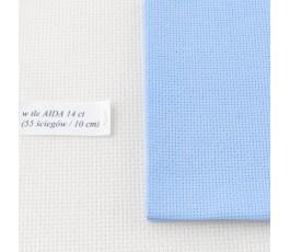 AIDA 18 ct ( 35x42 cm) kolor: 503 - błękitny