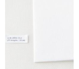AIDA 16 ct ( 42 x 54 cm) kolor: 100 - biały