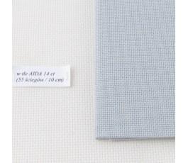 AIDA 18 ct ( 35x42 cm) kolor: 705 - jasnoszary