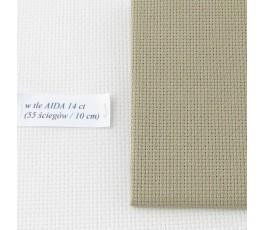 AIDA 16 ct ( 42 x 54 cm) kolor: 300 - jasny khaki