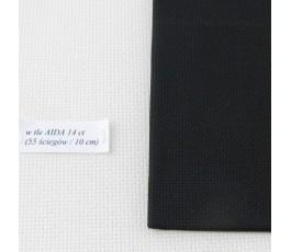 AIDA 18 ct ( 35x42 cm) kolor: 720 - czarny