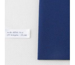 AIDA 16 ct ( 42 x 54 cm) kolor: 589 - granatowy