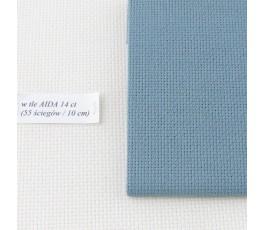 AIDA 16 ct ( 42 x 54 cm) kolor: 594 - stalowoszary