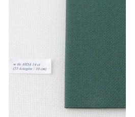 AIDA 16 ct ( 42 x 54 cm) kolor: 626 - zielony