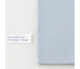 AIDA 16 ct ( 42 x 54 cm) kolor: 713 - szary