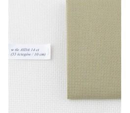 AIDA 18 ct ( 42 x 54 cm) kolor: 300 - jasny khaki