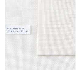 AIDA 18 ct ( 42 x 54 cm) kolor: 264 - ecru