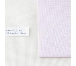 AIDA 16 ct ( 42 x 54 cm) kolor: 4110 - jasnoróżowy