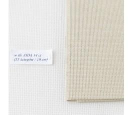 AIDA 18 ct ( 42 x 54 cm) kolor: 13 - jasnobeżowy