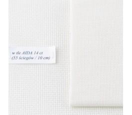 AIDA 20 ct (10x14 cm) kolor: 264 - ecru