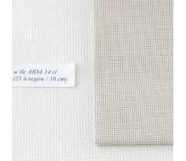 AIDA 20 ct ( 35x42 cm) kolor: 309 - piaskowy