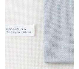 AIDA 20 ct ( 35x42 cm) kolor: 705 - szary