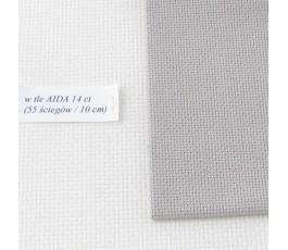 AIDA 20 ct ( 35x42 cm) kolor: 3021 - popielaty