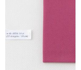 AIDA 18 ct ( 42 x 54 cm) kolor: 4037 - fuksja