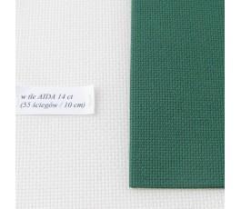 AIDA 18 ct ( 42 x 54 cm) kolor: 6037 - zielony